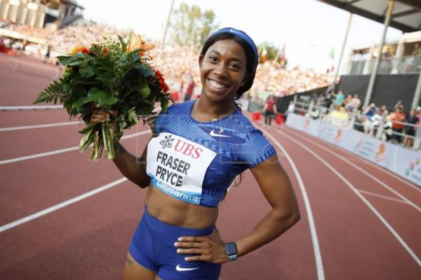 Shelly-Ann Fraser-Price la más veloz del año: 10.87 en Kingston