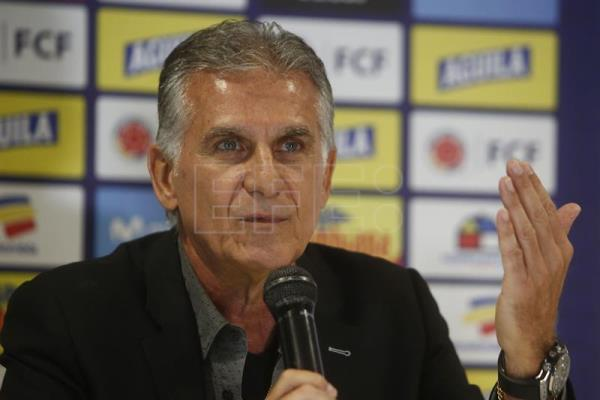 Queiroz anuncia el regreso de James y Falcao para las eliminatorias