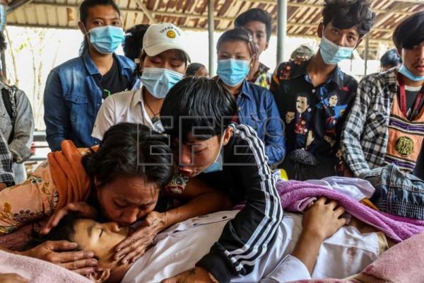 Myanmar holds 'silent strike' after 7-year-old killed by security forces