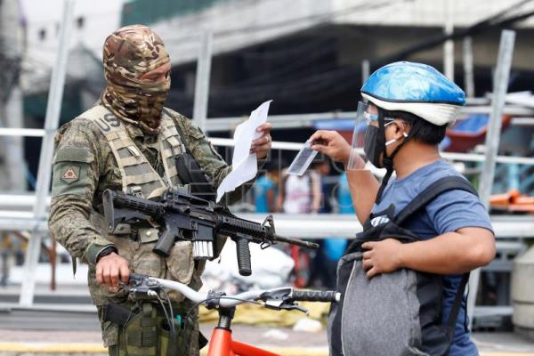 Philippines registers highest daily Covid-19 cases as lockdown resumes