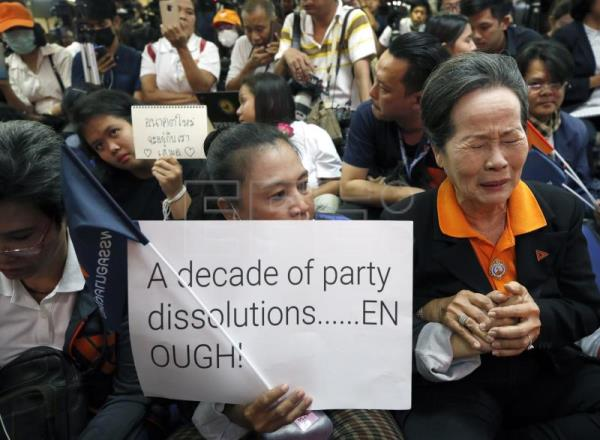 Thailand dissolves opposition party, casting doubts on country's democracy