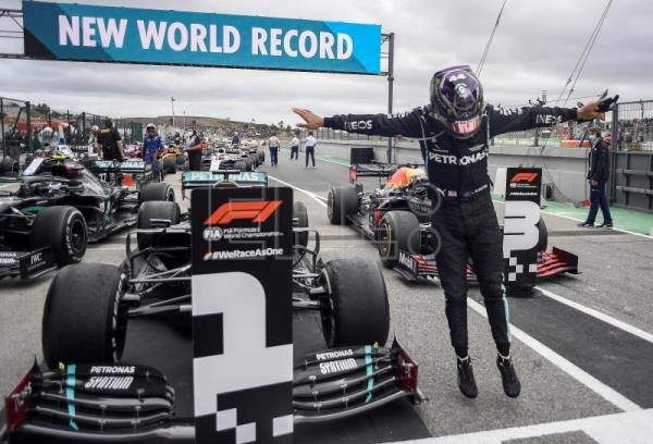 Hamilton makes history at Portuguese Grand Prix