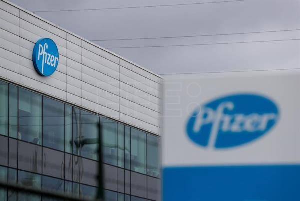 Pfizer production site in Puurs