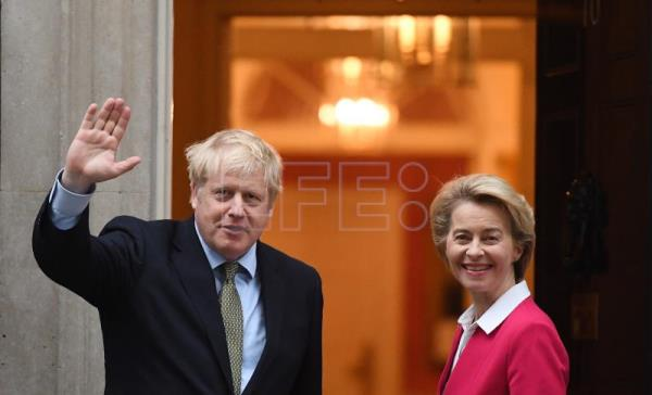 Von der Leyen: Comprehensive UK-EU trade deal not possible by year's end