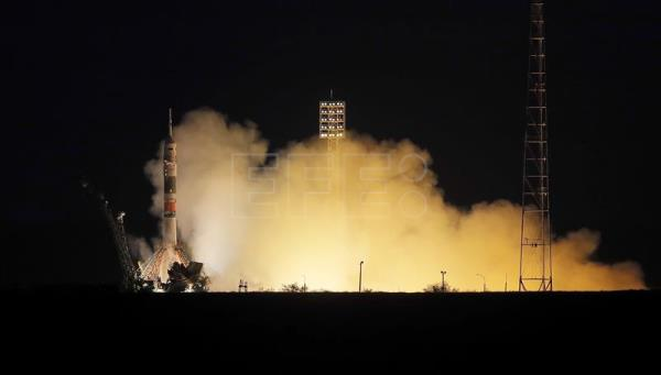 KAZAKHSTAN RUSSIAN SOYUZ ROCKET LAUNCH