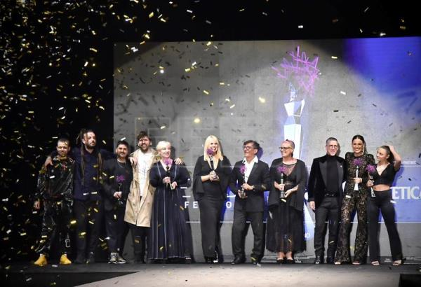 The 2020 International Hairdressing Awards' winners presented in Madrid