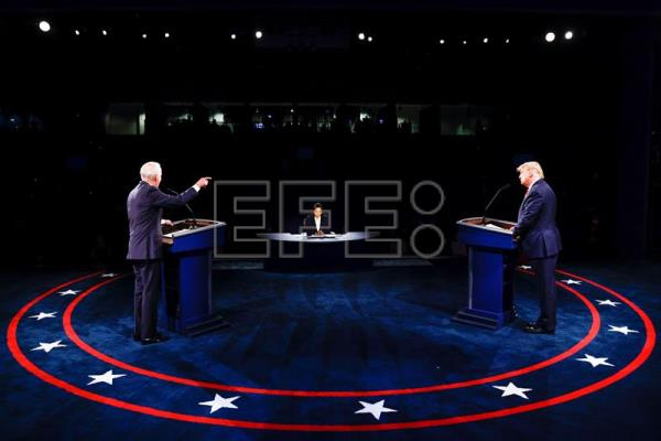 The final 2020 United States presidential debate