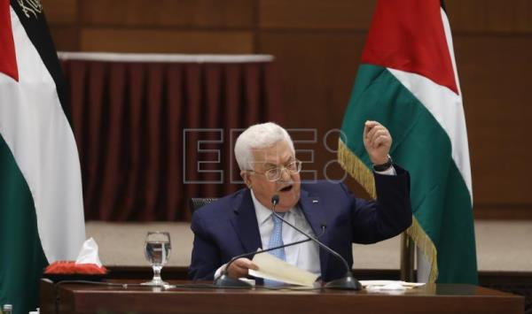 Palestinian leader announces end of all agreements with Israel, US