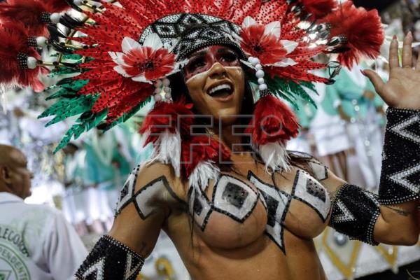 Rio Sambodromo brings down curtain but Carnival still going strong in Brazil