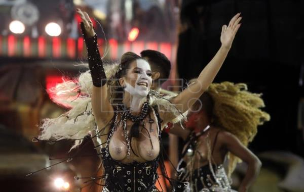 Rio Sambodromo brings down curtain but Carnival still going strong in Brazi