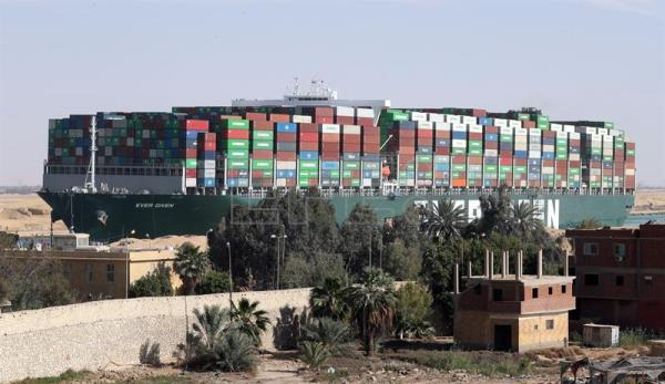 Suez Canal demands $916 mn in compensation from owners of Ever Given