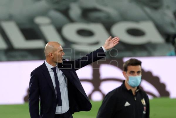 Zidane on Real Madrid's 'difficult' week ahead as season draws to close