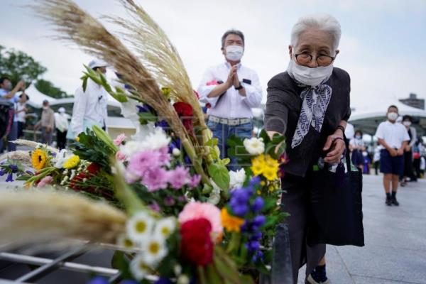 Hiroshima marks resilience 75 years after atomic bomb