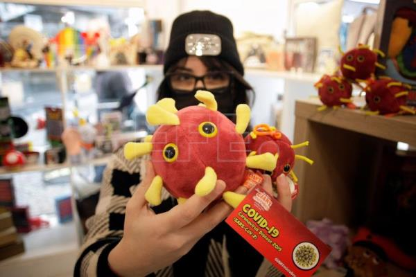 Spain gift shop cashes in, raises charity funds with Covid cuddly toys