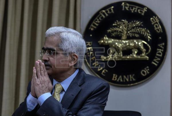 Indian central bank pegs growth at 6 percent in 2020-21