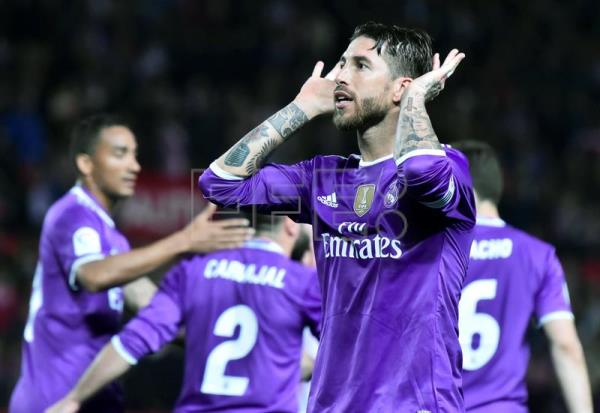 d42f81130cf Real Madrid backs Sergio Ramos over controversial goal celebration ...