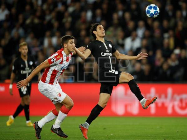 021472afe0a Neymar scores hat trick in PSG s 6-1 rout of Red Star Belgrade ...