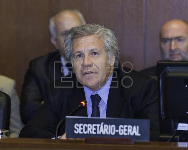 Almagro, 13 OAS nations demand Maduro suspend constitutional assembly