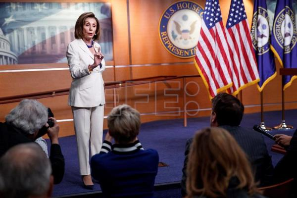 Speaker of the House Nancy Pelosi press conference