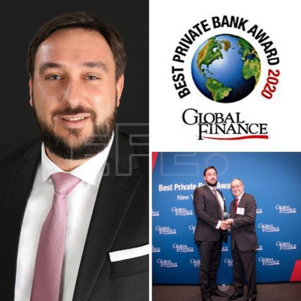 Luigi Wewege anuncia que Caye International Bank ha sido seleccionado Mejor Banco Privado en Belice 2020