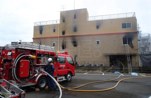 At least 25 dead in Japanese anime studio suspected arson