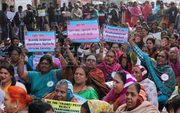 Transgenders in India oppose the bill seeking to protect them