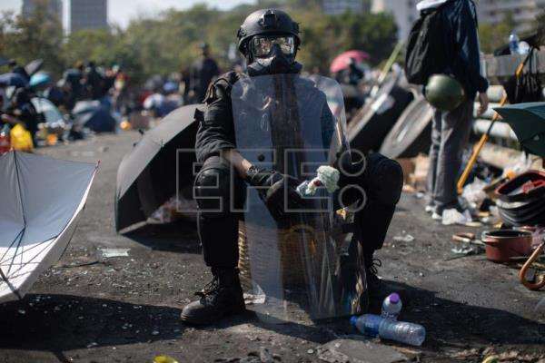 Protests return to paralyze Hong Kong with more tear gas, blockades, sabotage