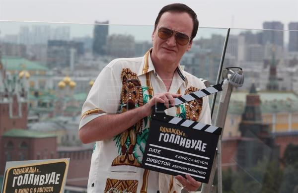 Once Upon a Time in... Hollywood photocall in Moscow