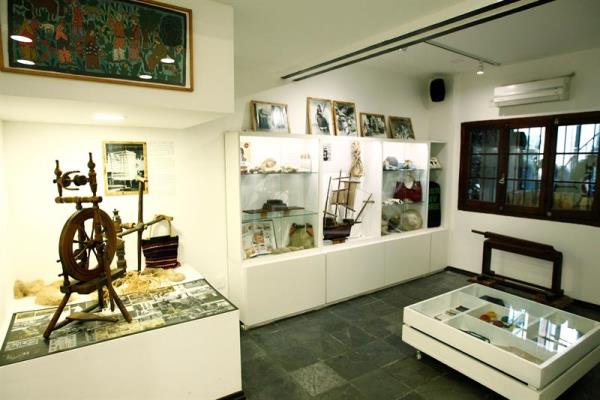 View of some of the objects that are exhibited during the inauguration of the first Cannabis Museum of South America in Montevideo, Uruguay, 08 December 2016. EPA/ Raul Martinez