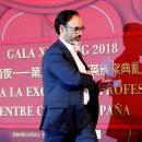 Agencia EFE President Fernando Garea takes on Feb. 16, 2019, the China-Spain Prize for Professional Excellence in the Communications category; these prizes are awarded by Xishang magazine for the purpose of breaking down borders and promoting culture and trade relations between the two countries. EFE-EPA/Zipi
