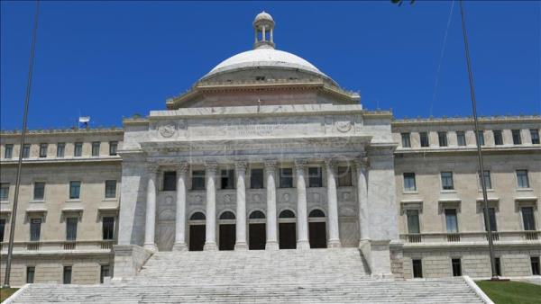 View of the Senate of Puerto Rico in San Juan, Puerto Rico. EFE