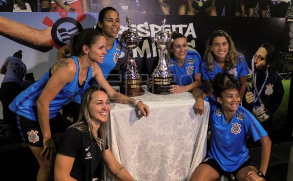 Female winners of South American soccer tourney earn 150 times less than men