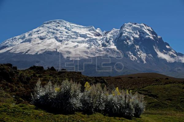 Climate change threatens 2 of Ecuador's 7 glaciers