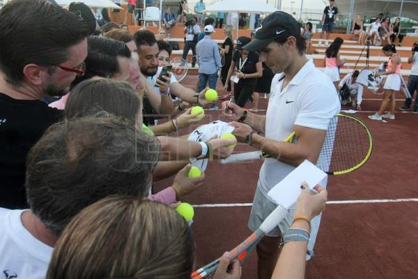 Nadal opens tennis academy in Mexico's Caribbean region