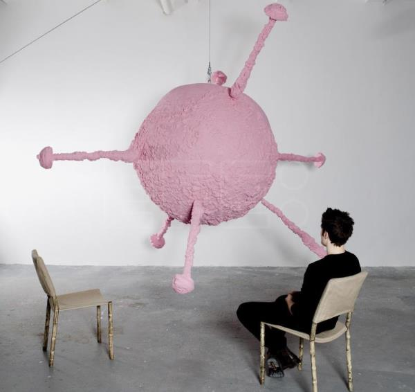 Franz West transforms UK's Tate Modern into an interactive playground