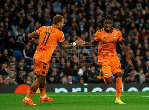 Manchester City Suffer Shock Home Defeat To Lyon In Champions League
