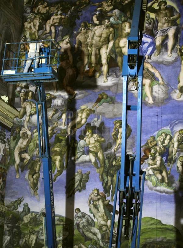 Life Sized Replica Of Sistine Chapel Created In Mexico City Life English Edition Agencia Efe