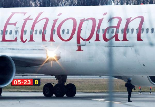 Ethiopian Airlines plane en route from Addis Ababa to Nairobi crashed