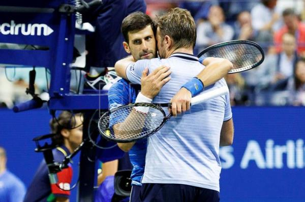 Djokovic retires due to injury in US Open match against Wawrinka