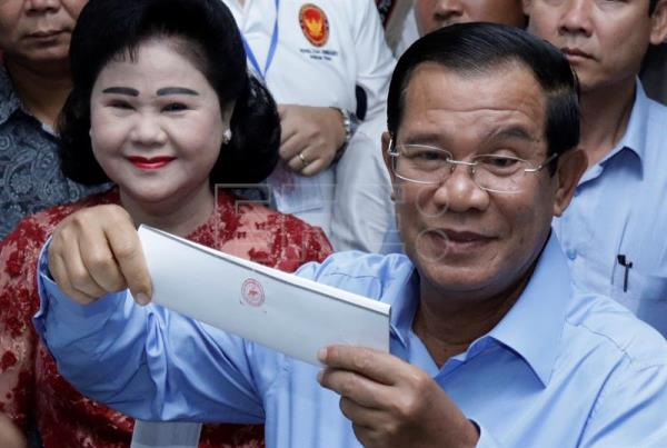 Washington Criticizes Flawed Cambodian Elections World English