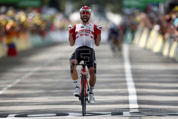 De Gendt wins stage 8, Alaphilippe takes back the race lead