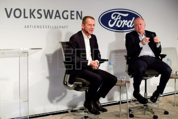 Ford and VW deepen ties, with focus on Europe