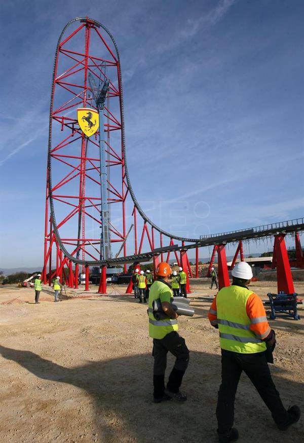 Spain S Ferrari Land To Thrill Visitors With Europe S Tallest Rollercoaster Life English Edition Agencia Efe