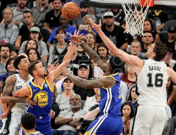 91-112. Thompson y Warriors acentúan crisis perdedora de los diezmados Spurs