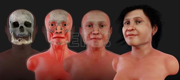 Mexican anthropologists put face on nearly 14,000-year-old woman