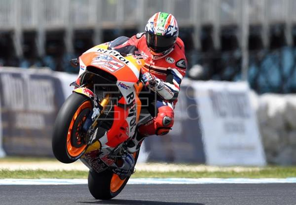 Former Motogp World Champion Nicky Hayden In Serious Condition North Italy Outstanding English Edition Agencia Efe