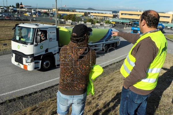 Strike of dangerous goods drivers in Portugal