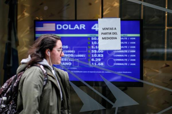 Argentine peso, stock market sink after primary election shocker