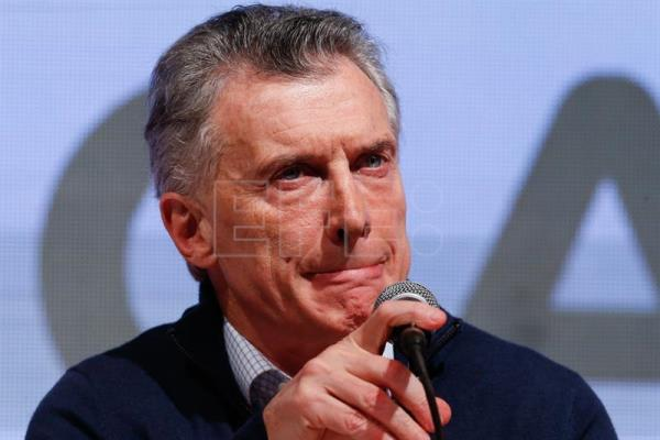 Macri recognizes defeat of his party during primary elections