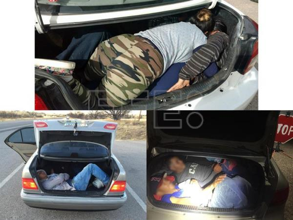 crossing the border in a car trunk poses deadly risk world